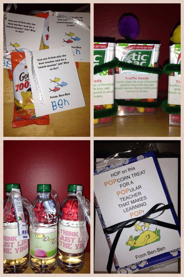 A Seuss-tastical Teacher Appreciation Week | Dr seuss ...