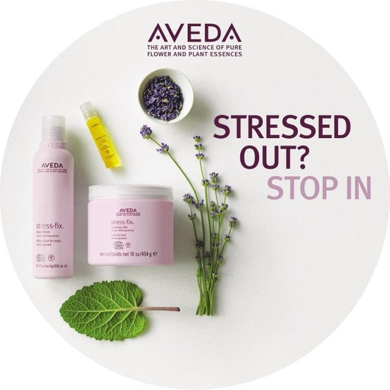 #AVEDA Stress Fix   The lavender is so pure and not to mention smells so good! Great bath soak.