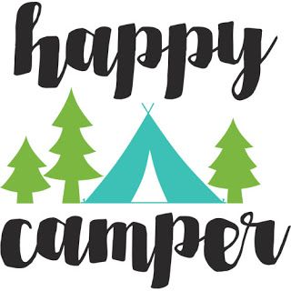 Burton Avenue: Freebie Friday - Happy Camper