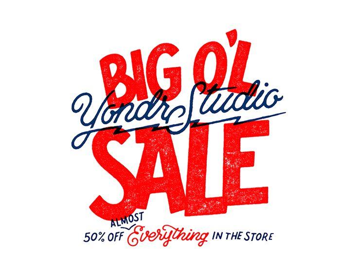 The big o l sale loop