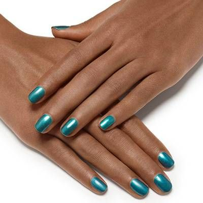 trophy wife by essie - fall in love with a rich pearly teal like trophy wife.