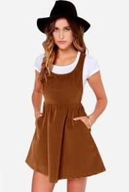 womens pinafore dress - Google Search