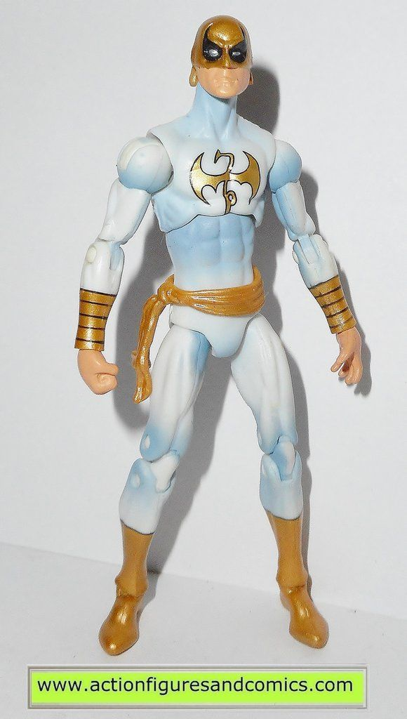 Hasbro toys action figures for sale to buy MARVEL UNIVERSE 2012 series 4 #006 - IRON FIST (white suit) condition: Excellent - nice paint, nice joints figure size: 3 3/4 inches ------------------------