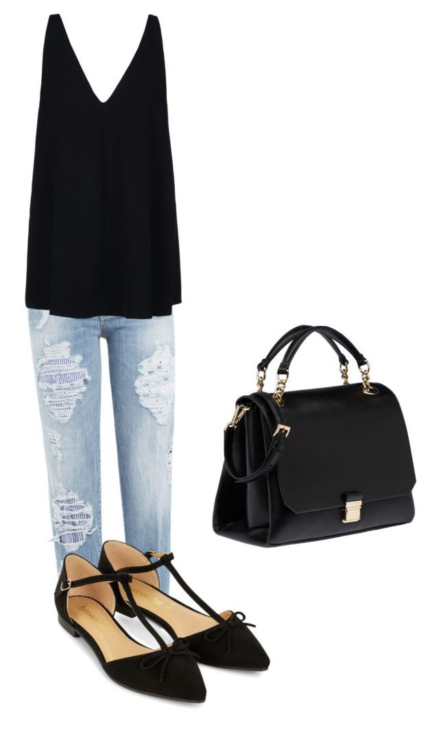 """""""Simple"""" by kate-rose-ellery on Polyvore featuring Dsquared2, STELLA McCARTNEY, Accessorize and Miu Miu"""