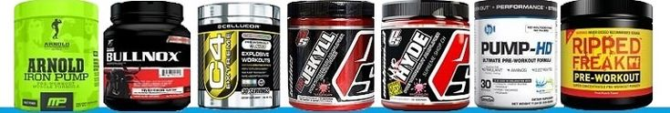 Top 10 pre workout supplements 2015 image