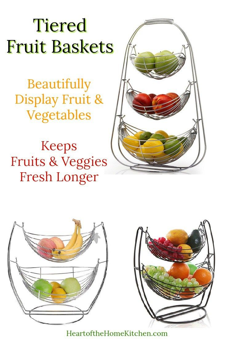 Tiered Countertop Fruit Baskets Tiered Fruit Basket Fruit