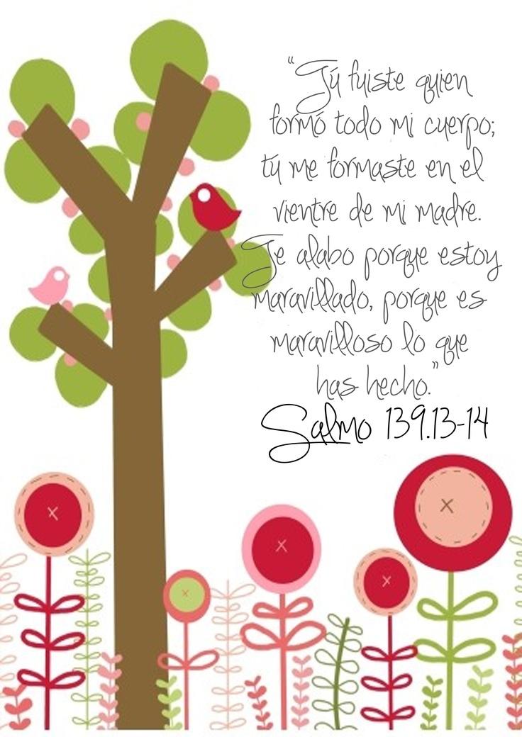 Ms de 25 ideas increbles sobre Salmo 139 en Pinterest