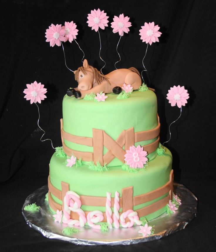 horse birthday cakes - Bing Images Horse cakes Pinterest
