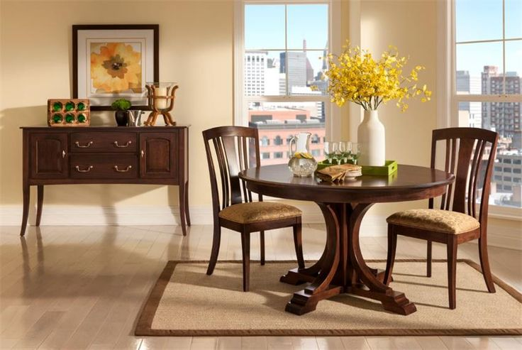Keystone Handcrafted Verona Dining Room Set  Keystone Collection  When you gather with family in your dining room to sit for a delightful meal, you rely on your dining room furniture to show a particular vibe. this ones' is radiant with positivity.