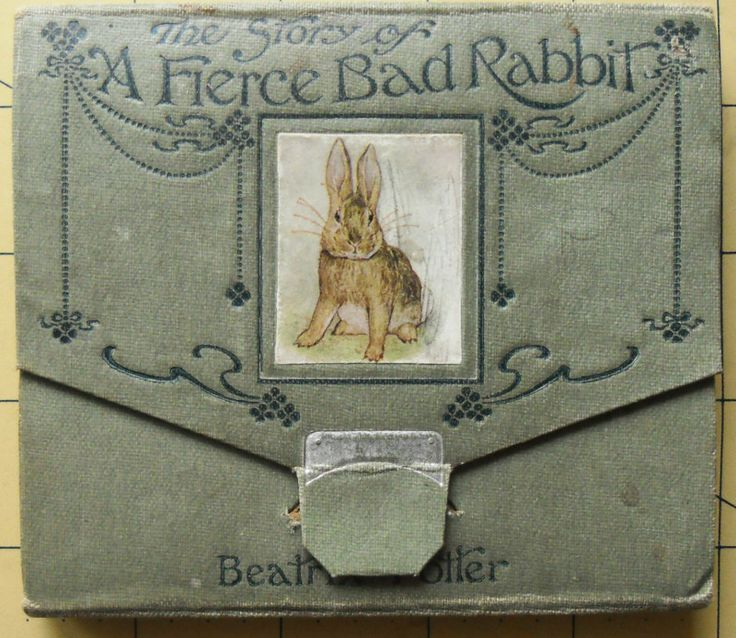 Beatrix Potter 1st edition 1st issue. Fierce bad rabbit 1906. eBay