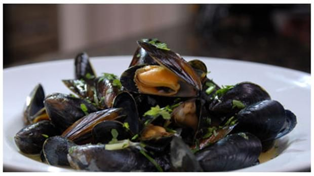 Moules mariniéres - Spise med Price