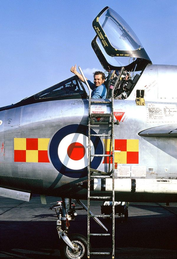 Lightning T4 XM968/Q of 92Sqn RAF Gütersloh September 1972