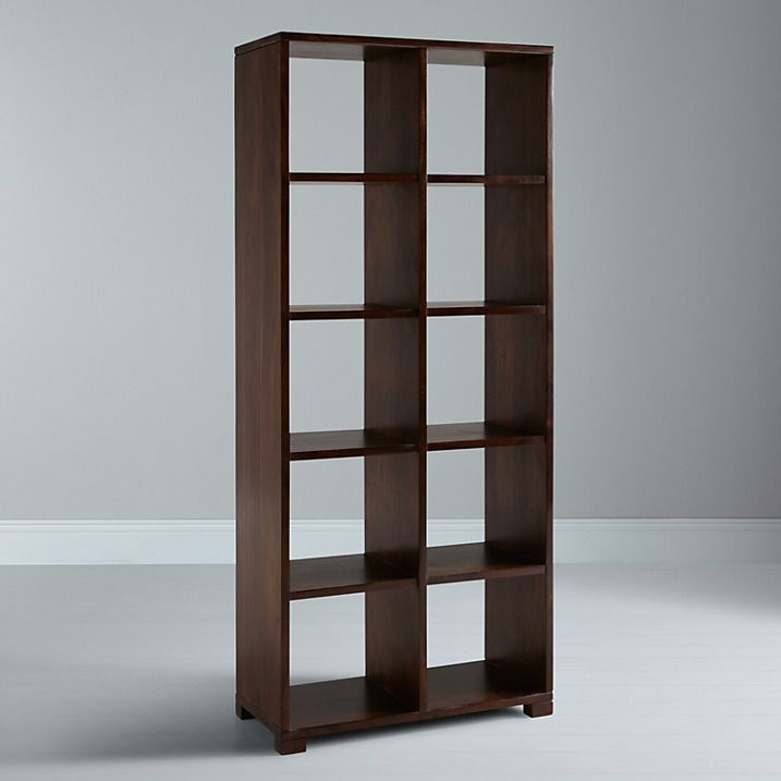 John Lewis Stowaway Double Bookcase Finished Online At Johnlewis