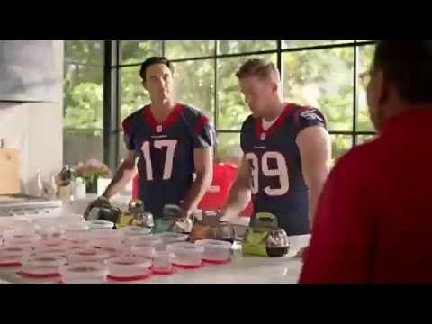 Brock Osweiler and JJ Watt New HEB Commercials 2016 - YouTube