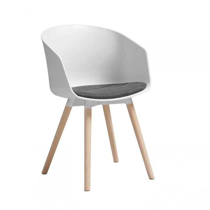 Moon Stuhl - Dunkelgrau\/Weiß Interstil Stühle Pinterest - esszimmer in der alten post weinheim