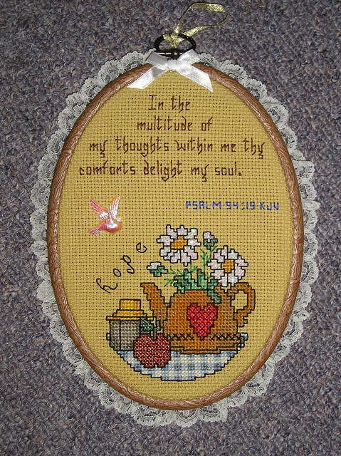 counted cross stitch