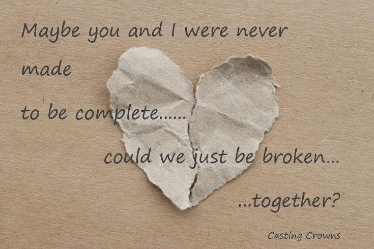 Broken Together by Casting Crowns