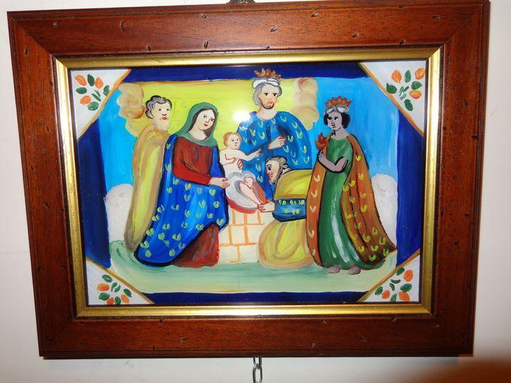 QUADRO ARTE SACRA POPOLARE SICILIANA di G ARTE su DaWanda.com
