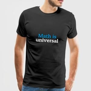 Math is universal las matemáticas son universales Bolsas y mochilas