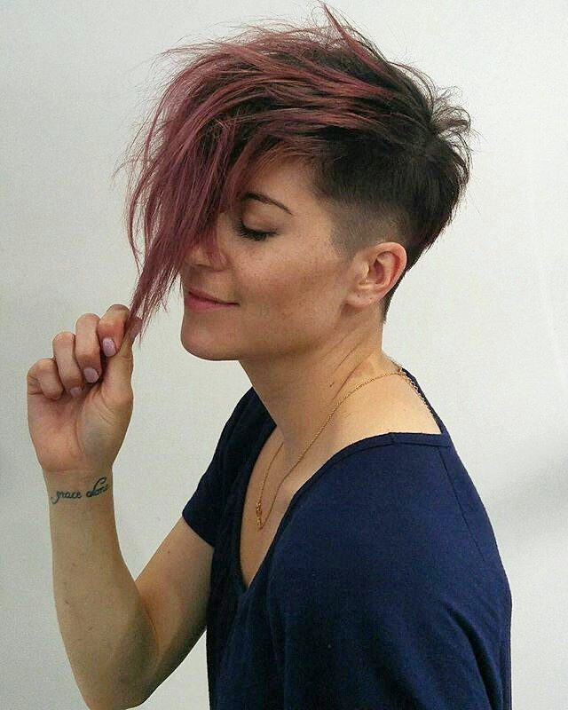 #pixiecuts From @highfidelityhair hair by @morganmartin_hair & @hairbycamillepettit
