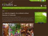 Découvrez le site Internet de votre fleuriste Au Cyclamen : livraison de fleurs à domicile, fleurs pour tous les événements (naissance, baptême, fêtes, obsèques) à Châteaulin