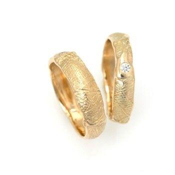 vielsesringe guld diamant fingerring aftryk christel kaaber guldsmedie