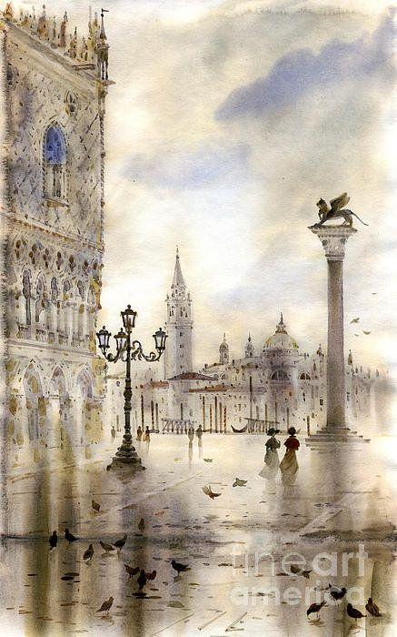 Venice Print By Svetlana And Sabir Gadghievs