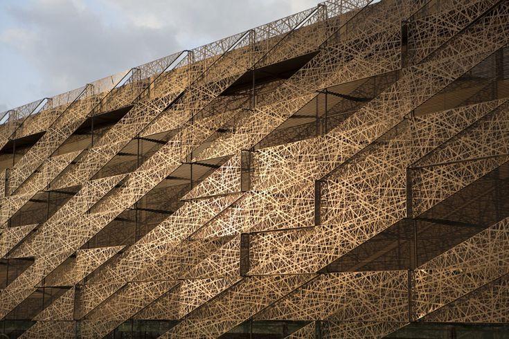 Sipopo Congress Center in Sipopo, Equatorial Guinea by Tabanlıoğlu Architects,