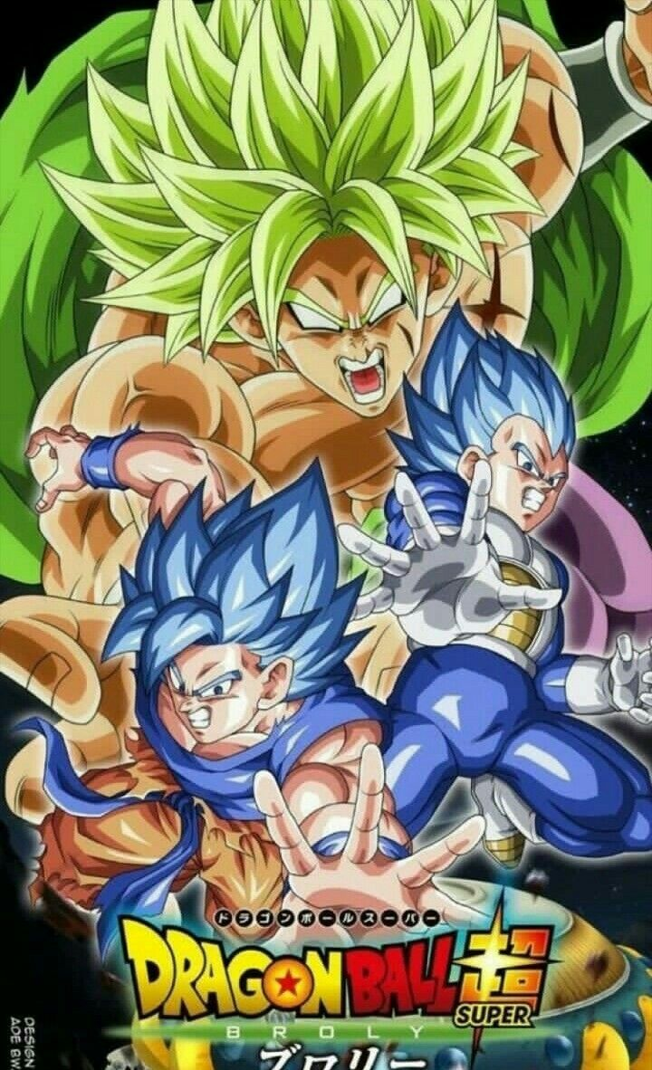 Dragonballsuper Broly Personajes De Goku Dibujo De Goku