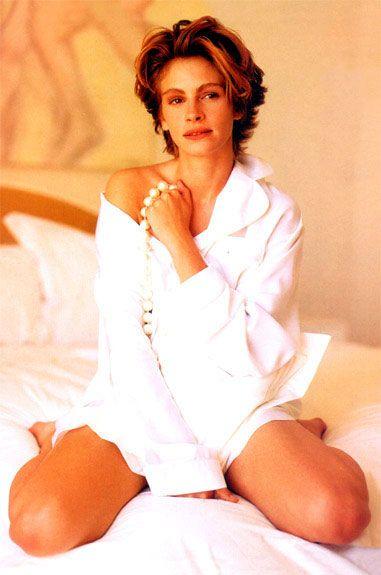 Julia Roberts in Harper's Bazaar - September 1990