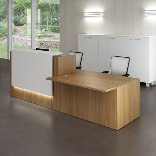 reception desks contemporary and modern office furniture - Reception Desk Designs