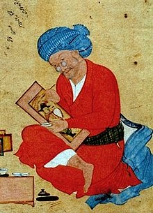 "Riza Abbasi, Riza yi-Abbasi or Reza-e Abbasi, رضا عباسی in Persian, usually ""Riza"" or Reza Abbasi also Aqa Riza (but see below) or Āqā Riżā Kāshānī (c. 1565–1635) was the leading Persian miniaturist of the Isfahan School during the later Safavid period, spending most of his career working for Shah Abbas"