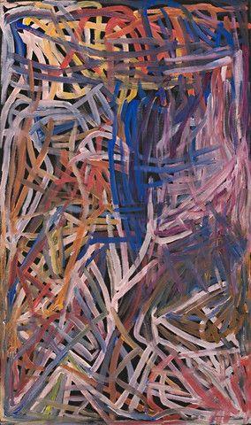 'Kame Colour', Emily Kngwarreye, 1996
