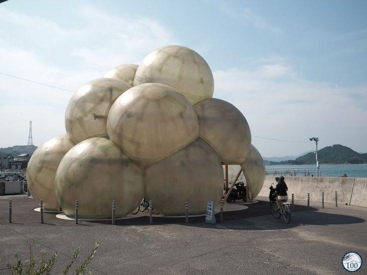 Naoshima island in Kagawa prefecture (Shikoku) #contemporaryart #japan #yayoikusama #japantravel #nippon100 #takaoando