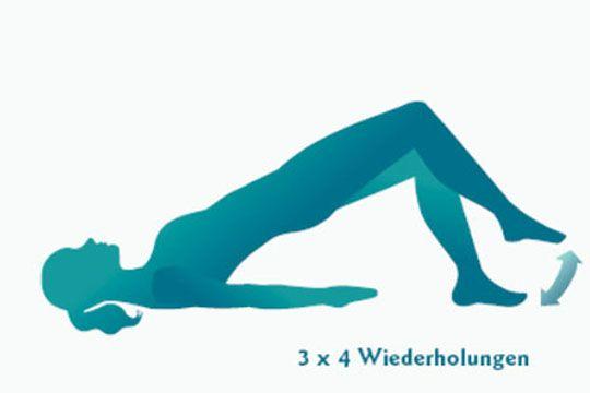 Für diese Übungen benötigen Sie lediglich eine weiche Unterlage, bequeme Kleidung und einen Stuhl – schon kann's losgehen!  © BGV Info Gesundheit e.V. www.bgv-blasenschwaeche.de