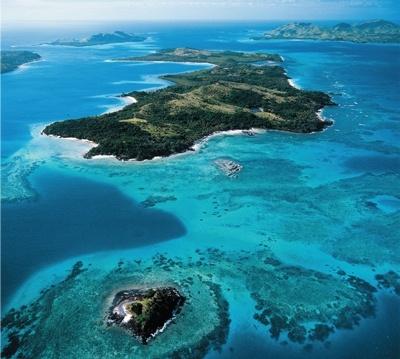 An introduction to the turtle island fiji