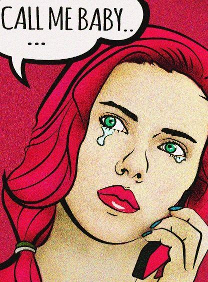 Scarlett Johansson popart by.MiRee