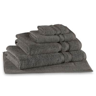 Wamsutta Ultra Soft Micro Cotton Bath Towel In Charcoal