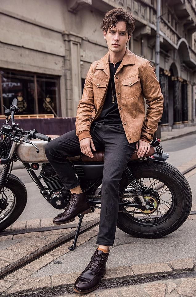 Mens Outfits Men S Leather Jacket Styles Guide 3 Leather Jacket Men Style Leather Jacket Style Leather Jacket Men