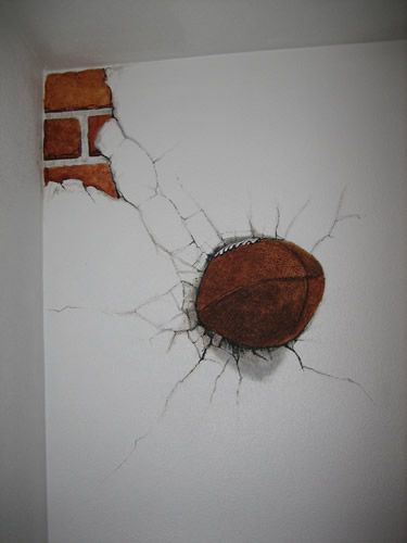 Alexander Artworks - Kid's Football Room