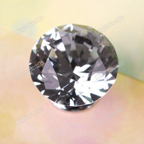1 Pcs 30 mm forma de diamante de cristal gabinete Knob armário gaveta puxador #03 Hot em Alças e Maçanetas de Melhorias na casa no AliExpress.com | Alibaba Group
