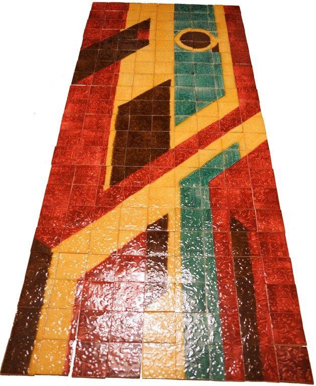 Венецианские узоры (керамическая плитка) - студия керамики ЯрИзразец