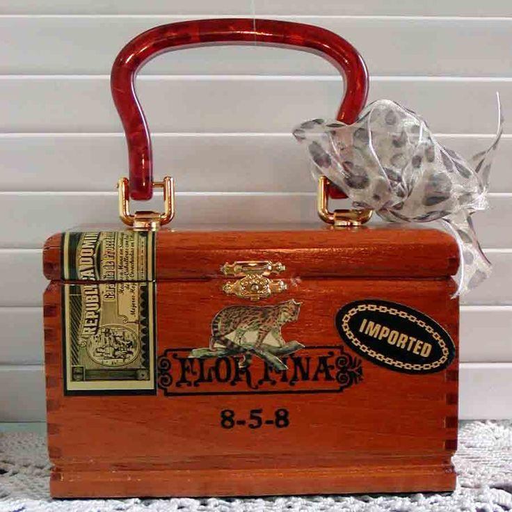 Cigar Box Handbag | Random