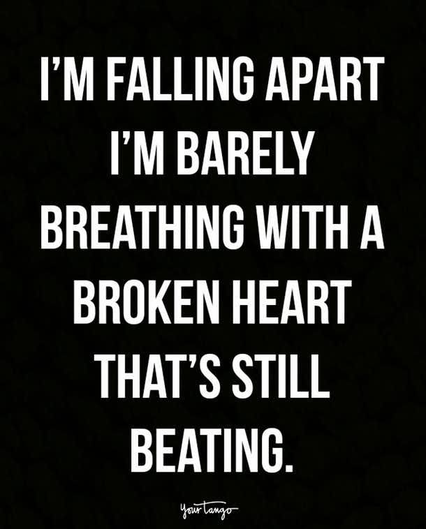 When your heart wants to keep going, but you still hurt like CRAZY.