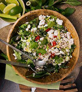 chicken quinoa larb