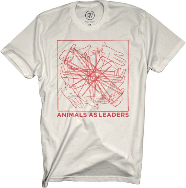 Animals As Leaders Hands Bands Natural T Shirt Mens Tshirts Shirts