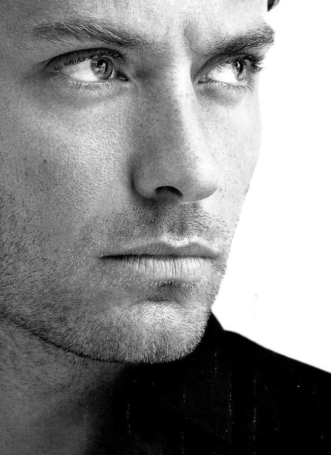 Jude law. Not sure ive ever seen a more beautiful man