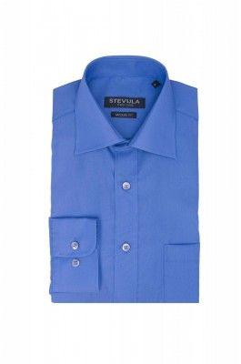 Modrá Royal pánska košeľa