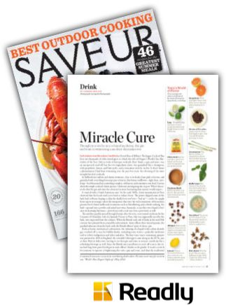 Suggestion about Saveur June / July 2014 page 37
