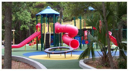 Awesome Playground At James Island County Park That Has A